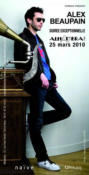 Alex Beaupain - Concert Alhambra