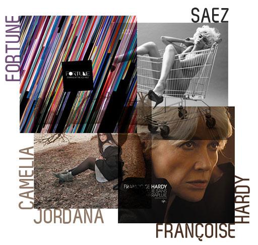 Fortue - Saez - Camélia Jordana - Françoise Hardy