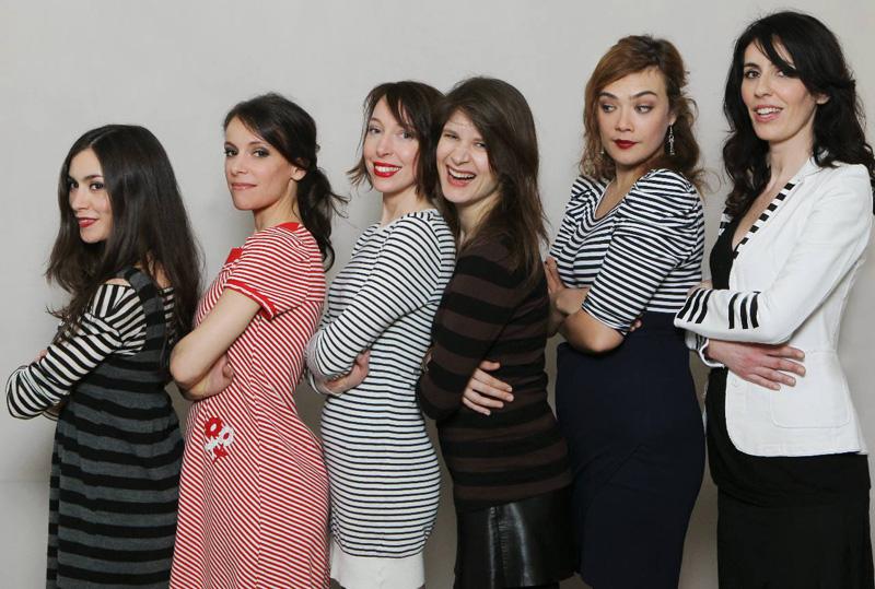 Les Françoises (Olivia Ruiz, Emily Loizeau, Jeanne Cherhal, Camille, Rosemary, La Grande Sophie)