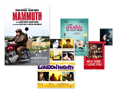 Mammuth - London Nights - Les invités de mon père - New York, I love you - Toutes les filles pleurent