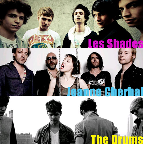 Les Shades - Jeanne Cherhal - The Drums