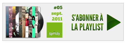 Playlist Pinkfrenetik : Septembre 2011