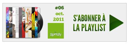 Ecouter la playlist sur Spotify