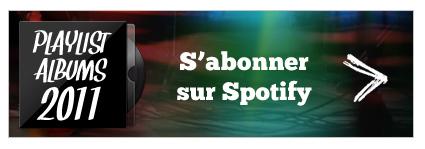 Playlist 2011 sur Spotify