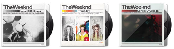 The Weeknd - House Of Balloons / Thursday / Echoes Of Sound