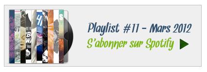 S'abonner à la Playlist 11 sur Spotify