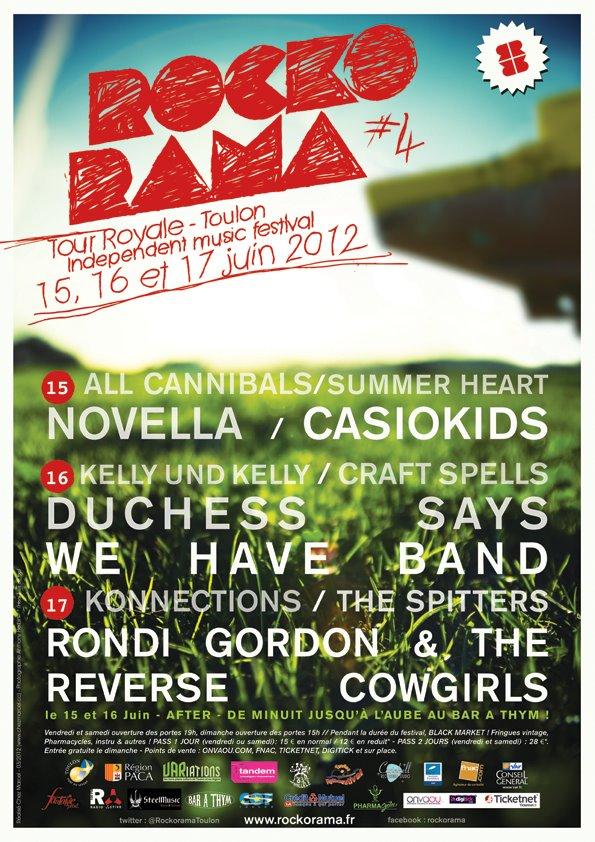 Concours : Gagnez 2x2 places pour le Rockorama Festival