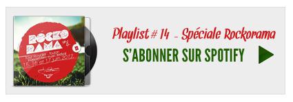 S'abonner à la playlist 14 sur Spotify