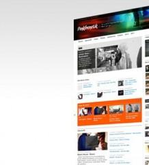 Pinkfrenetik : nouvelle page d'accueil