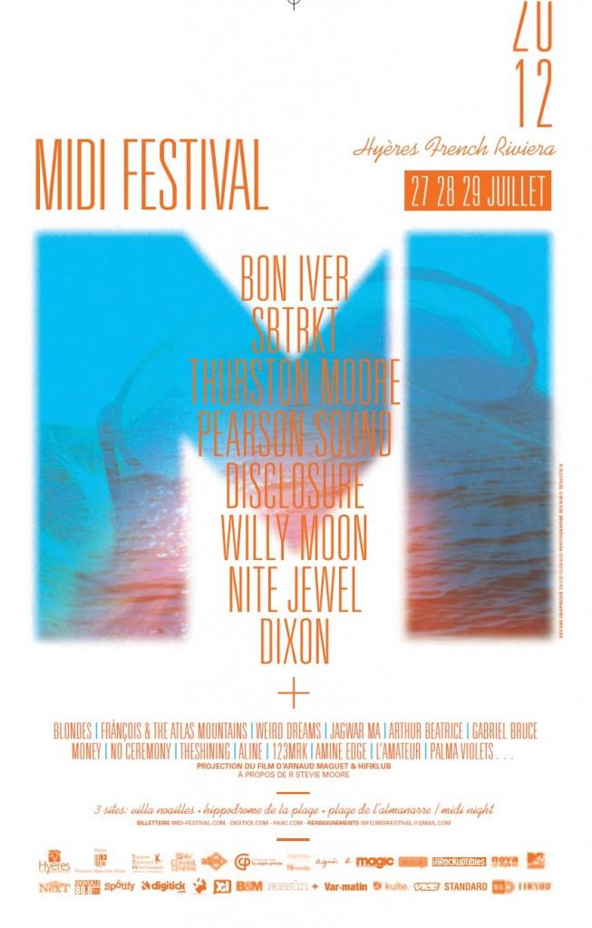 Midi Festival été 2012