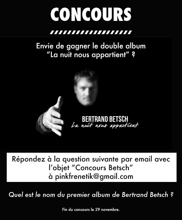 Bertrand Betsch - Concours