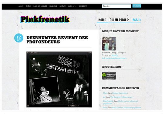 Pinkfrenetik - Refonte octobre 2009