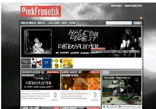 Pinkfrenetik - Refonte octobre 2010