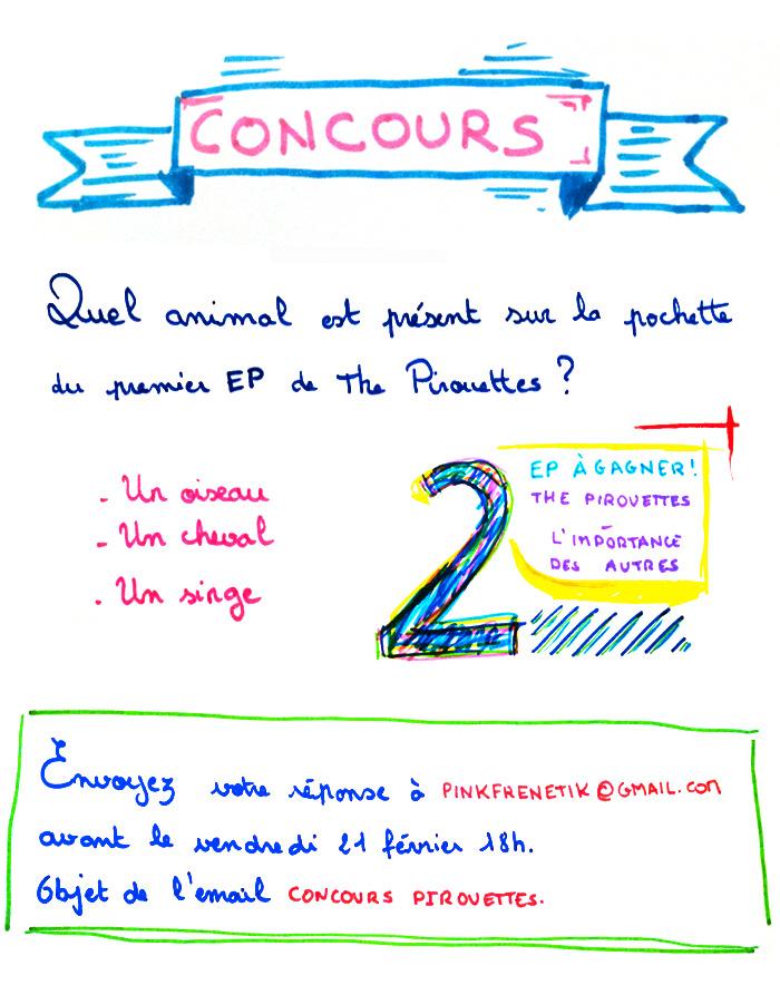 Concours : remportez l'EP - L'importance des autres - de The Pirouettes !