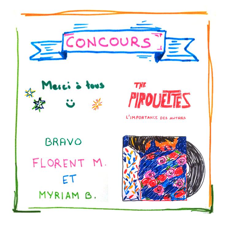 Résultat Concours The Pirouettes