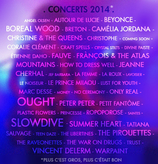 Concerts 2014