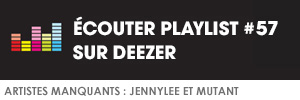 Ecoutez la playlist 57 by Pinkfrenetik sur Deezer