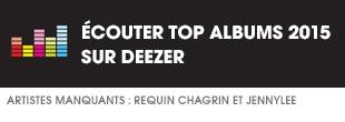 Ecoutez Top Albums 2015 sur Deezer
