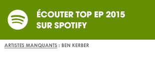 Ecoutez Top EP 2015 sur Spotify