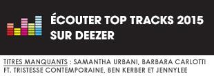 Ecoutez Top Tracks 2015 par Pinkfrenetik sur Deezer
