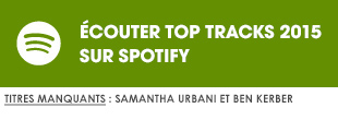 Ecoutez Top Tracks 2015 par Pinkfrenetik sur Spotify