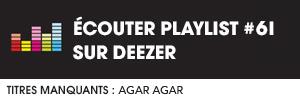 Ecoutez la playlist 60 sur Deezer