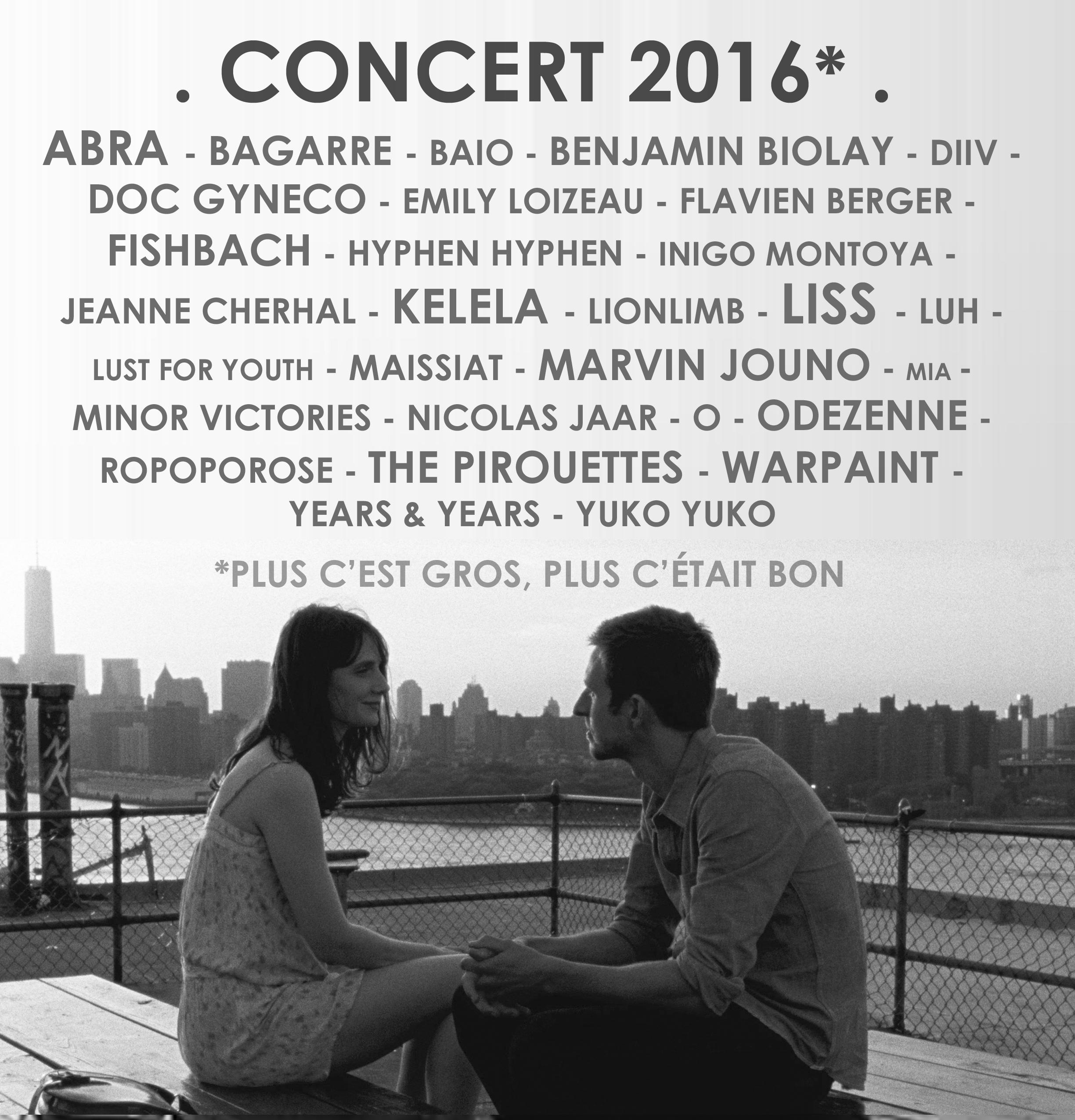 Concert 2016