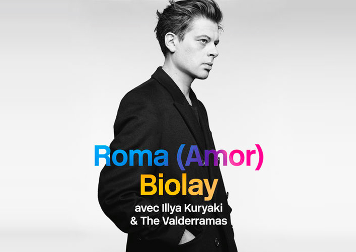 [TRACK] Benjamin Biolay - Roma (Amor) - Live ft. Illya Kuryaki And The Valderramas