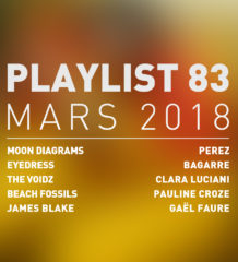 Playlist #83 : Moon Diagrams, The Voidz, Clara Luciana, Gaël Faure, etc.