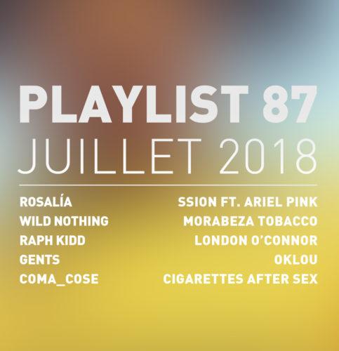 Playlist #87 : Rosalía, Coma_Cose, GENTS, Cigarettes After Sex, etc.