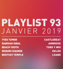 Playlist #97 : Yves Tumor, Beach Youth, Oklou, Toro Y Moi, etc