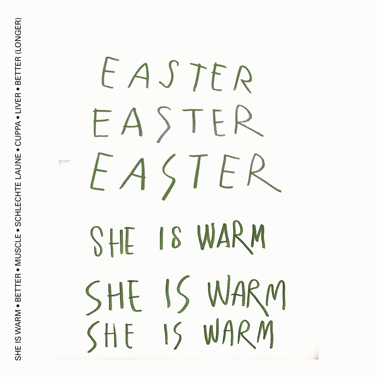 Easter - She Is Warm