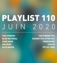 Playlist 110 : The Strokes, Ian Isiah, Chiloo, etc.