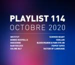 Playlist 114 : Institut, BabySolo33, Coline Blf, Paper Tapes, etc.