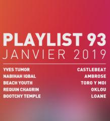 Playlist #97 : Yves Tumor, Beach Youth, Oklou, Toro Y Moi, etc