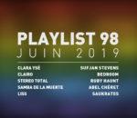 Playlist 98 : Clara Ysé, Stereo Total, Clairo, Liss, etc.