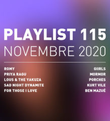 Playlist 115 : Lous & The Yakuza, Romy, Giirls, Ben Mazué, etc.